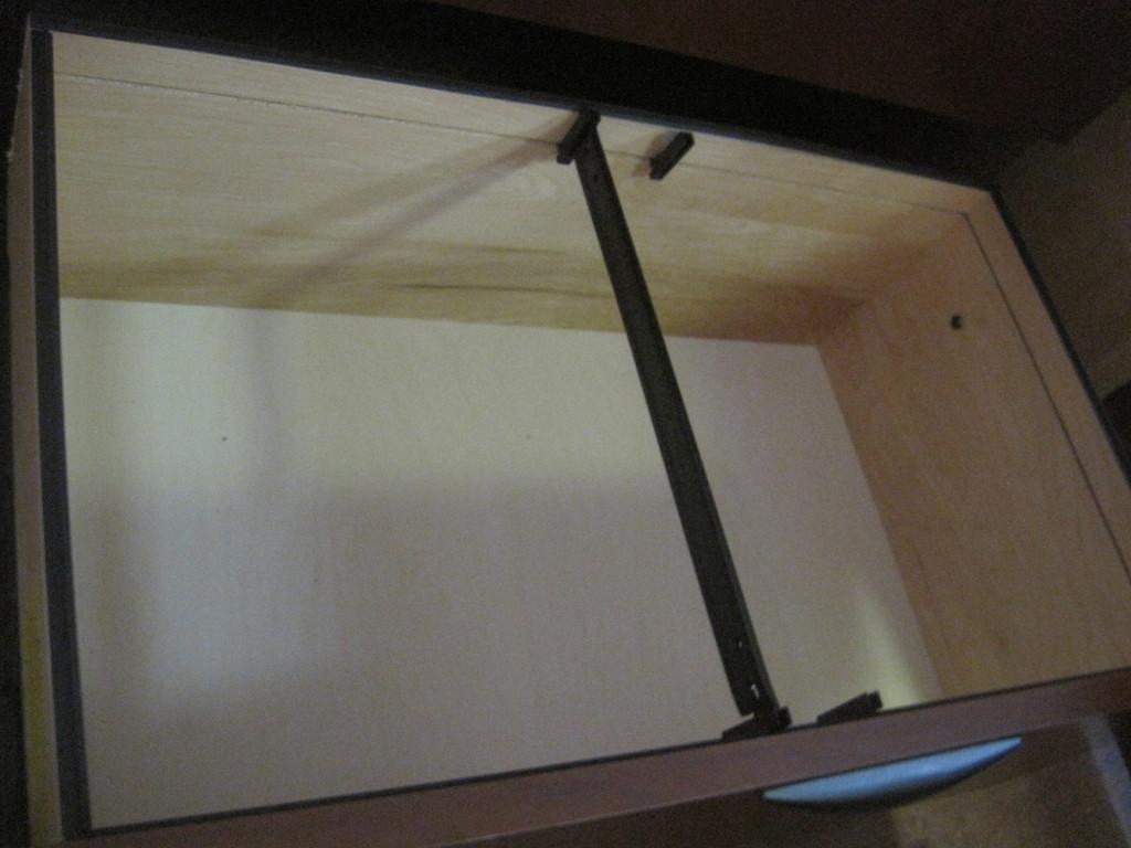 Steelcase wood 2 drawer lateral w/2 shelf hutch