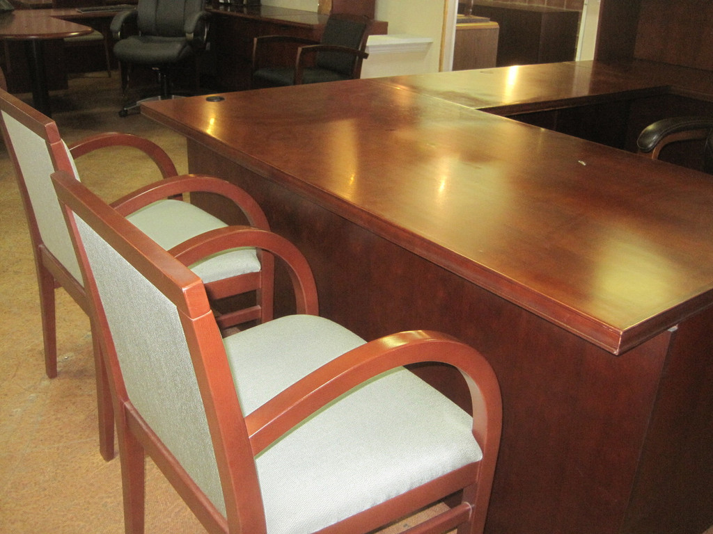 Steelcase Wood/Fabric (Desk Not Included)
