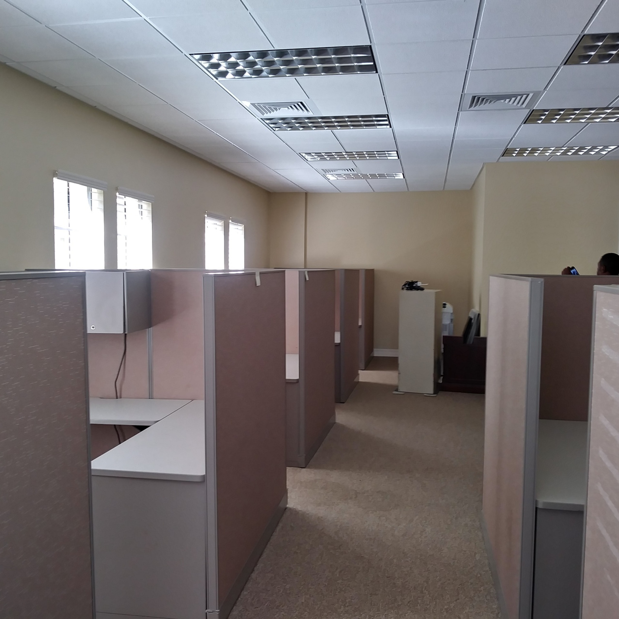 envirotech office haworth furniture premise workstations used