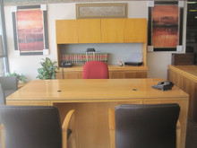 4 Piece Office Desk Set