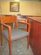 Cherry Wood Side Chair (Desk Not Included)