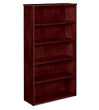 Hon BW Veneer 5-Shelf Bookcase