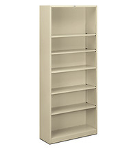 Hon Brigade 6-Shelf Bookcase
