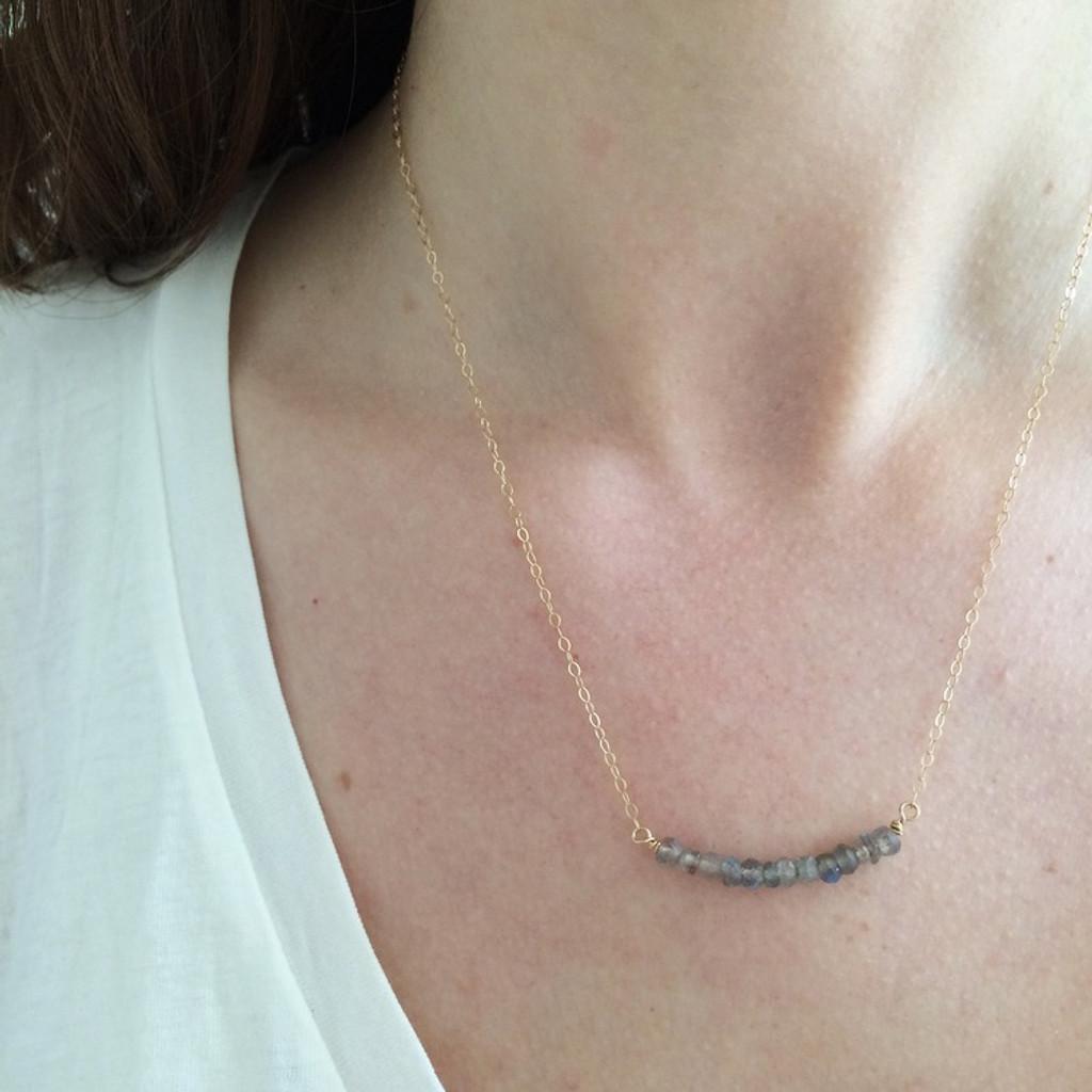 Feldspar Necklace