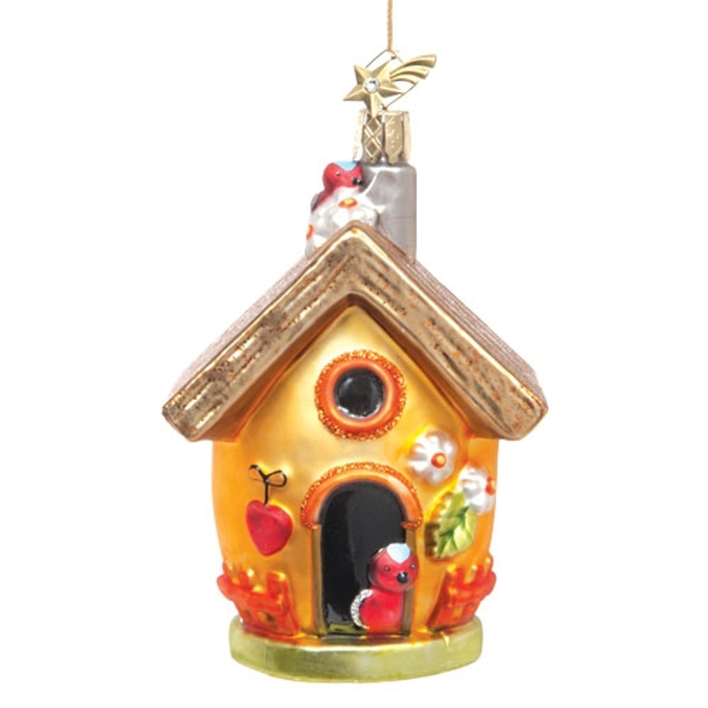 Yellow Spring Birdhouse