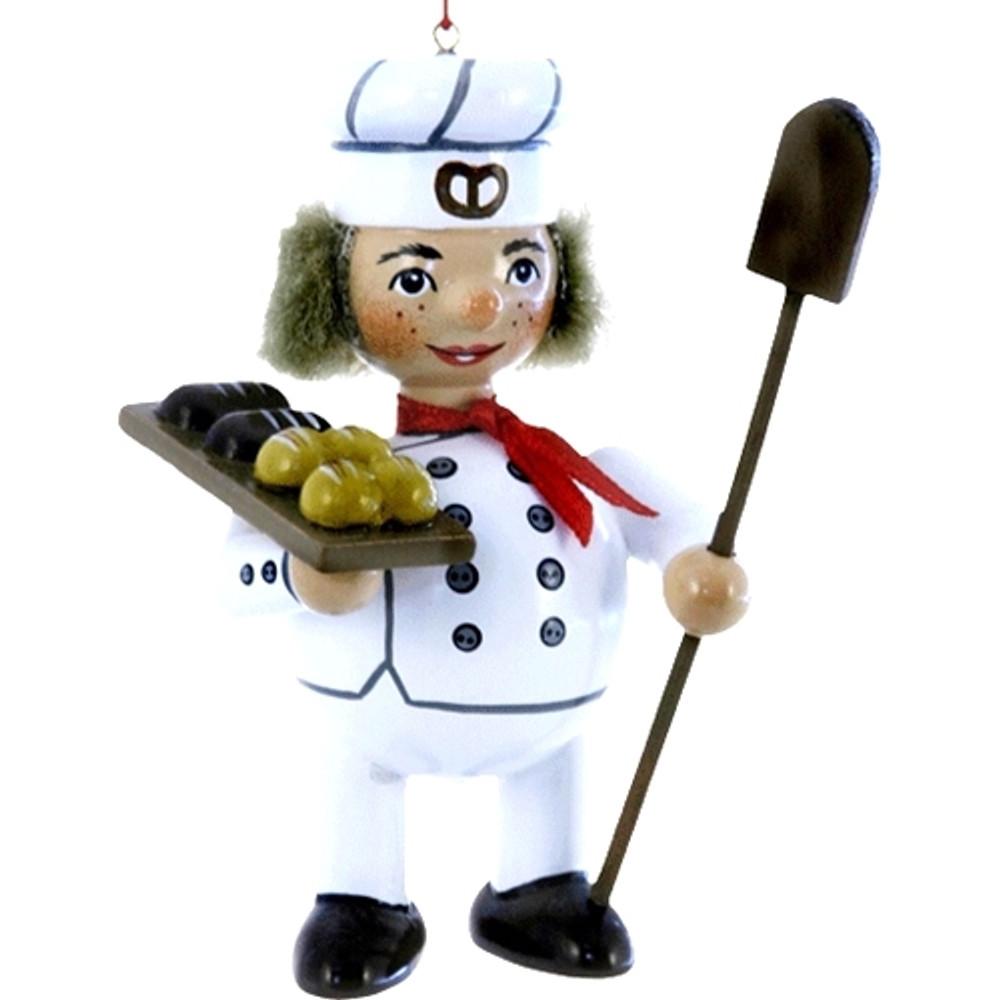 Baker in Uniform