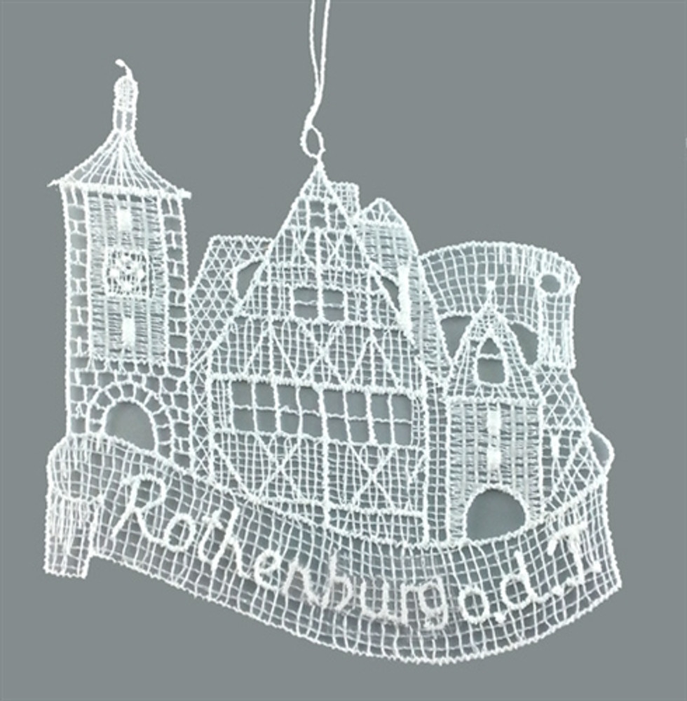 Rothenburg Linen Ornament