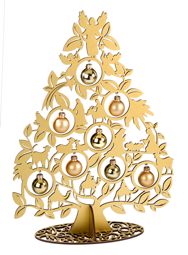 Large Gold Tree