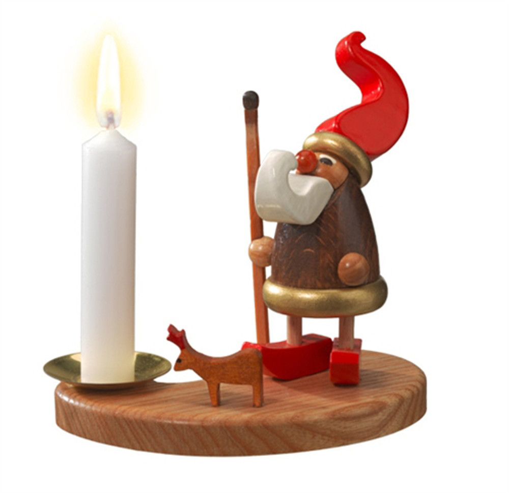 Elf with Matchstick