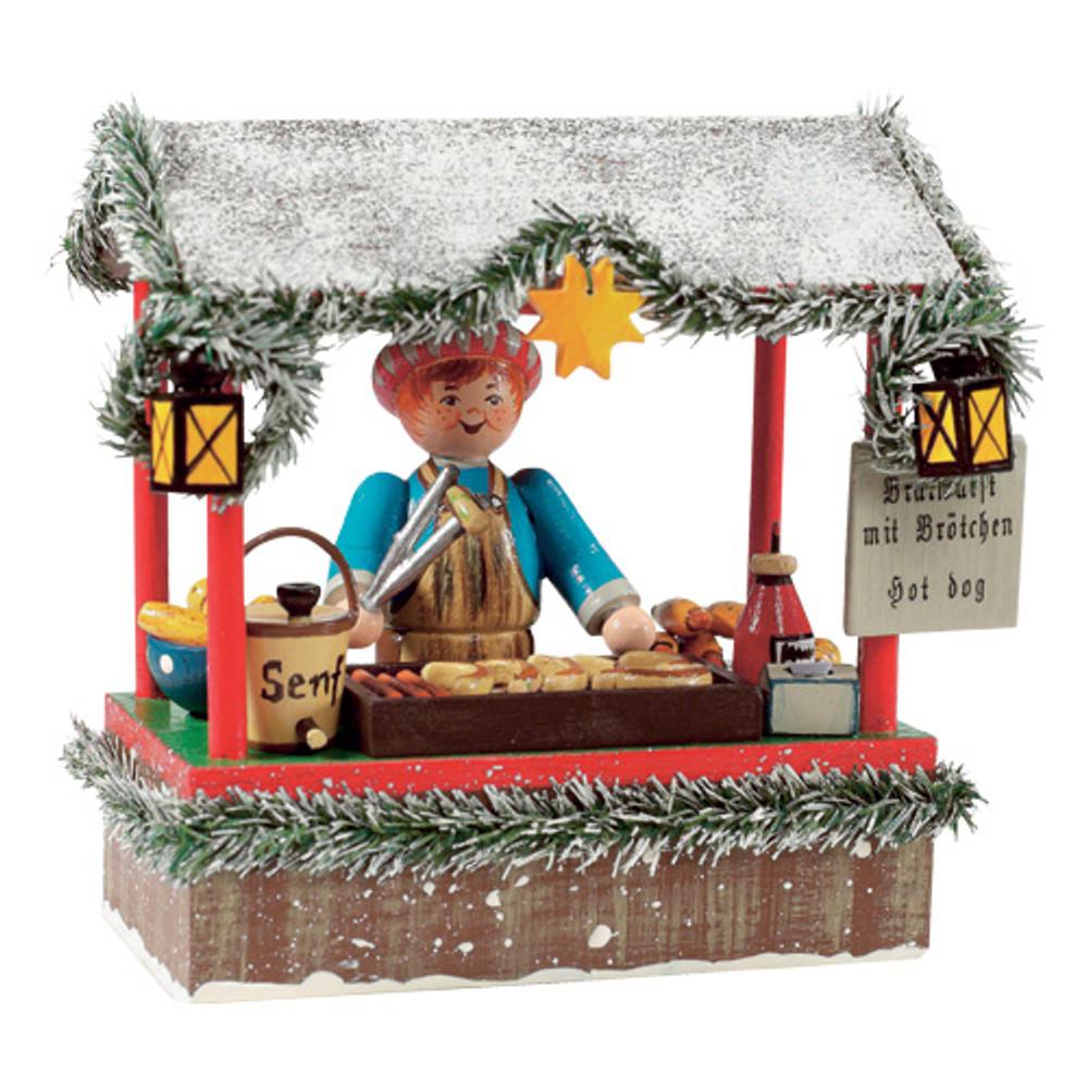 Bratwurst Seller Booth