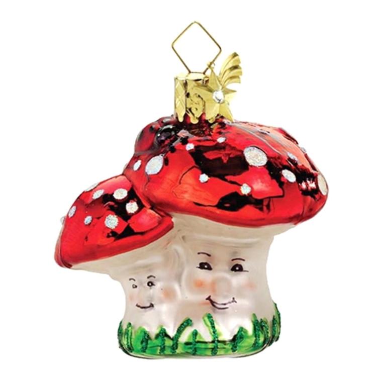 Mushroom with Ladybug