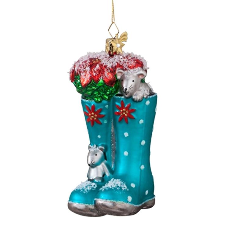 Snowy Garden Boots