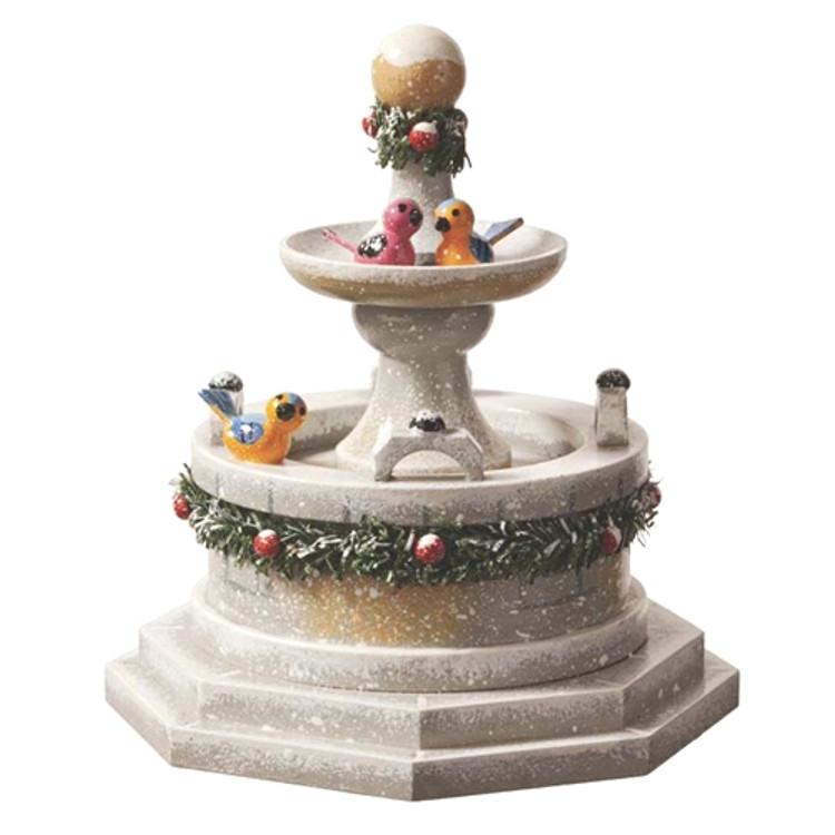 Winter Fountain
