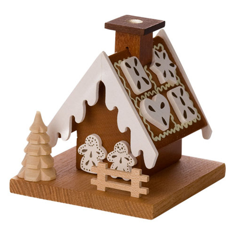 Frosted Gingerbread House