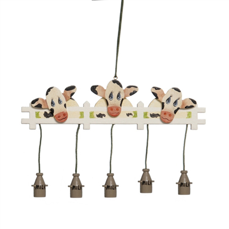 Cows at Picket Fence