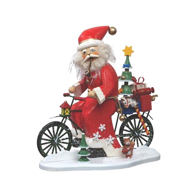 Santa Cyclist