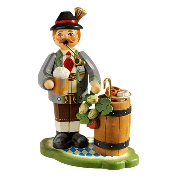 Bavarian Man with Beer Barrel