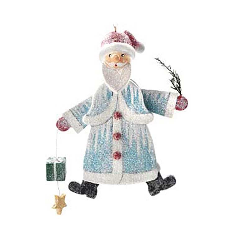 Frosty Santa with Gifts