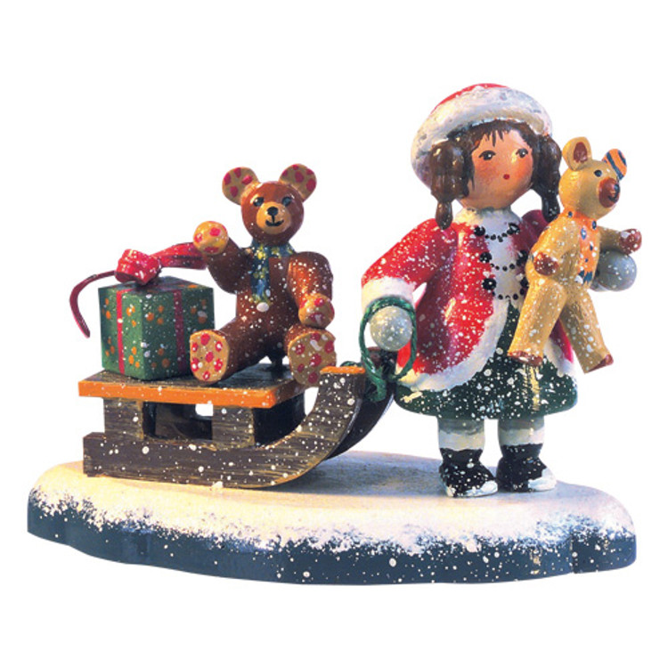 Teddy's Sleigh Ride