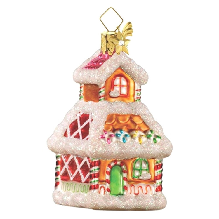Colorful Gingerbread House