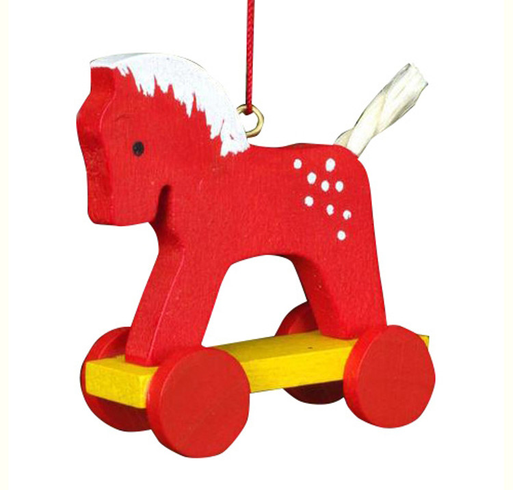 Red Horse Toy