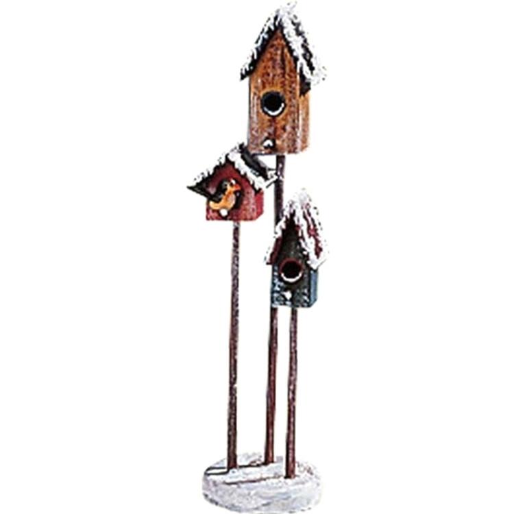 Winter Birdhouses