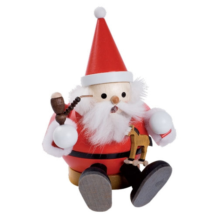 Sitting Santa Incense Smoker