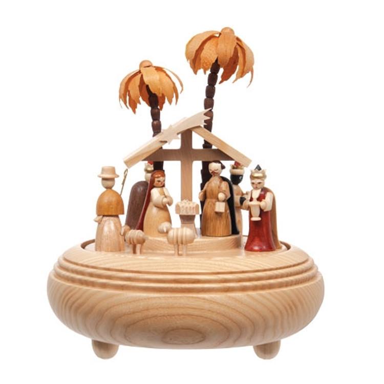 Holy Nativity Music Box