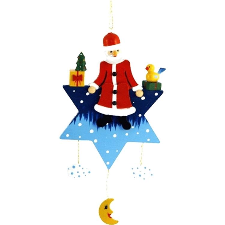 Santa on a Star