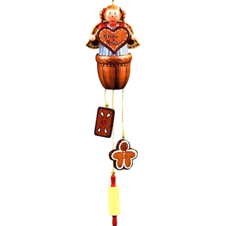 Angel With Gingerbread Items