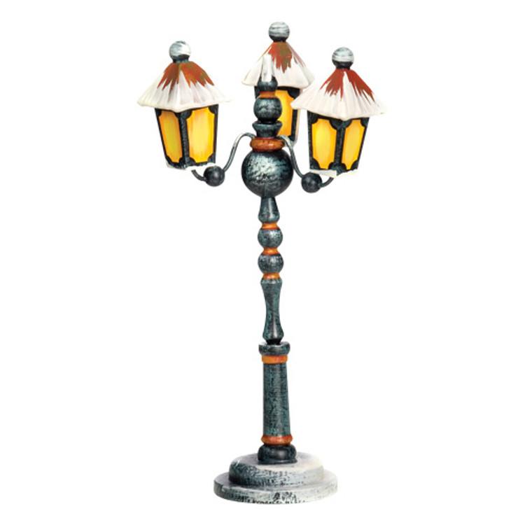 Winter 3-Arm Street Lantern
