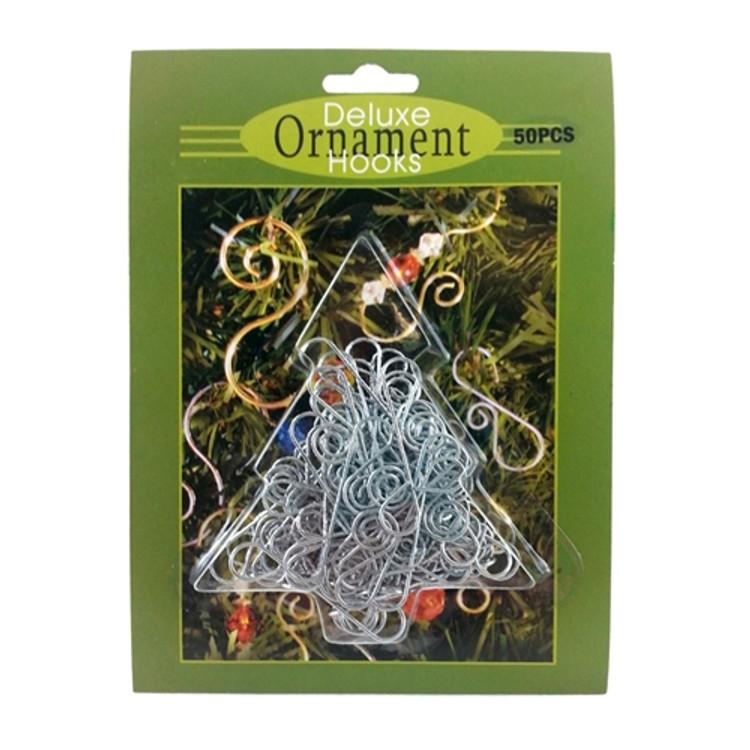 Silver Ornament Hooks