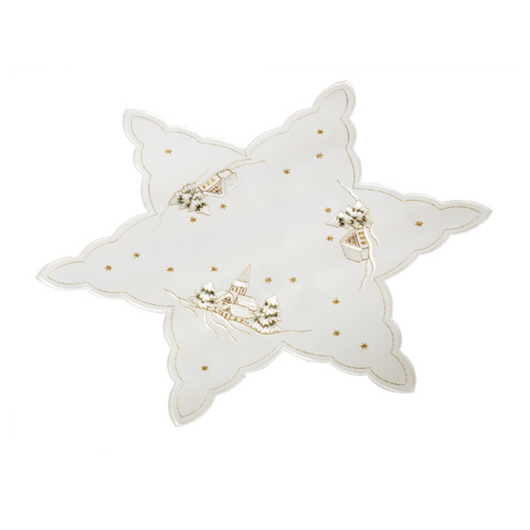 Winter Snow Star 15""