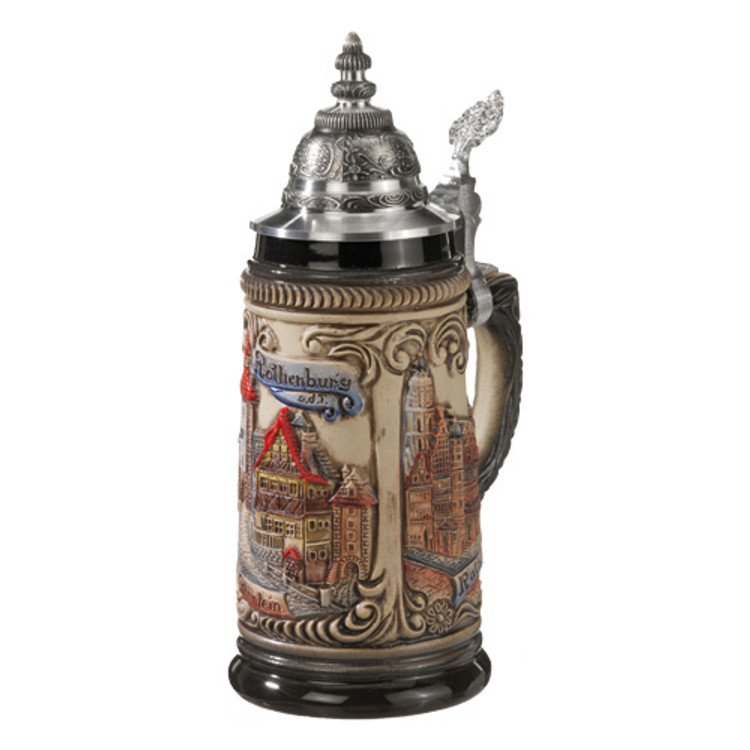 Colorful Rothenburg Beer Stein