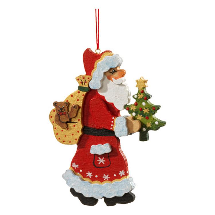 Santa with Tree and Sack