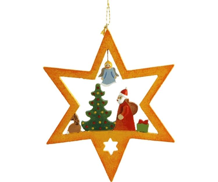 Santa with Tree Star