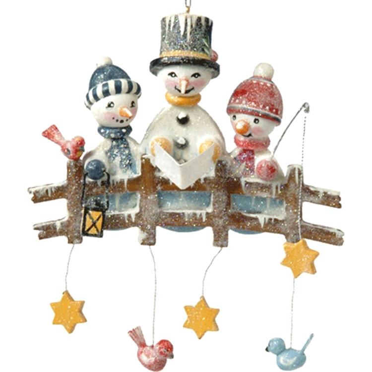 Snowman Carolers