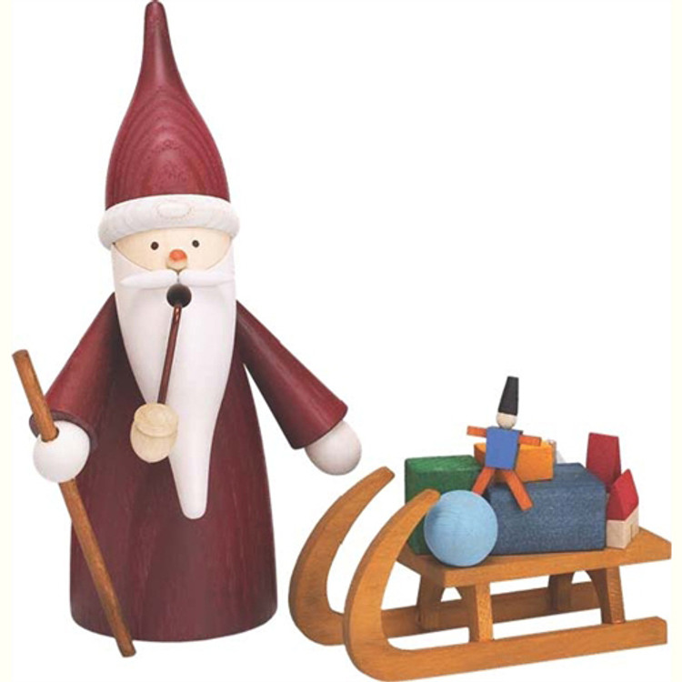 Santa Pulling Sleigh