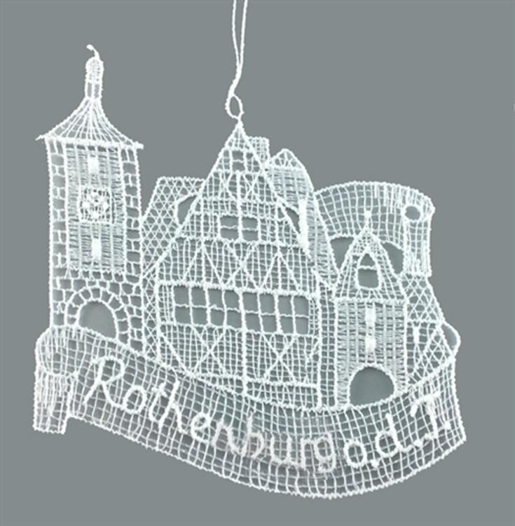 Rothenburg Linen Ornament