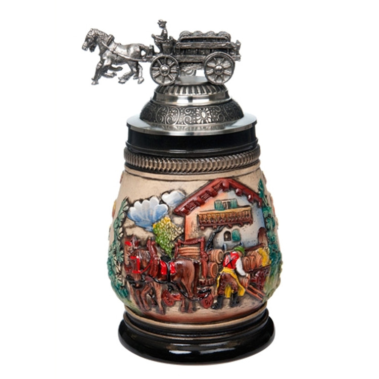 Beer Wagon Beer Stein