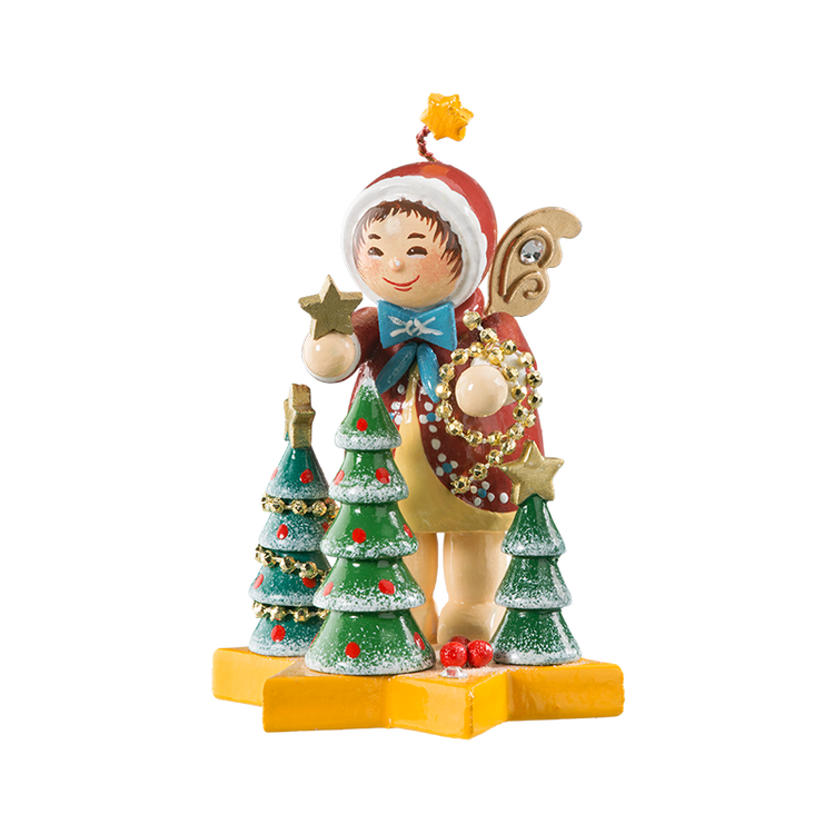 Angel Decorating the Tree