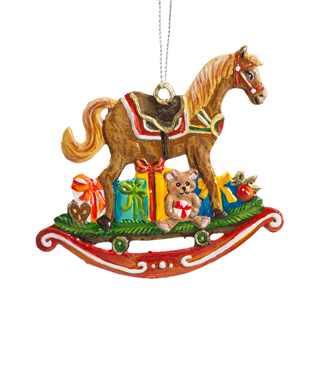 Rocking Horse with Toys