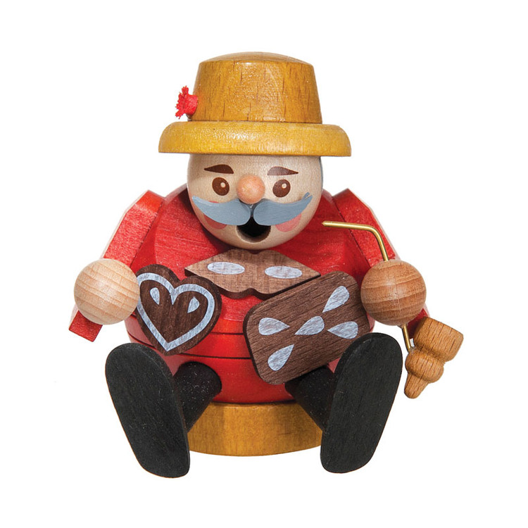 Sitting Round Gingerbread Seller