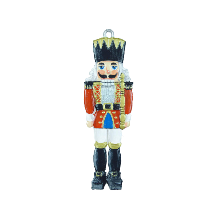 Traditional Nutcracker Pewter