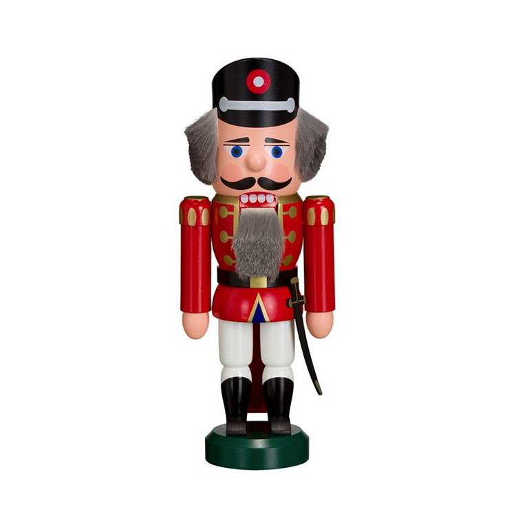 Nutcracker Soldier in Red and White