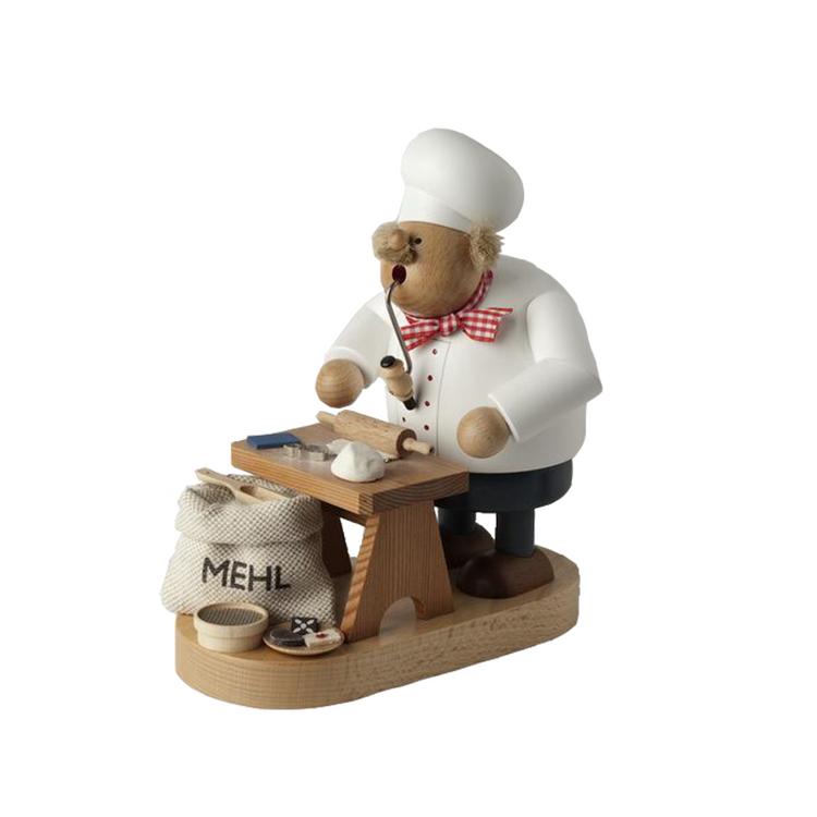Baker Making Gingerbread