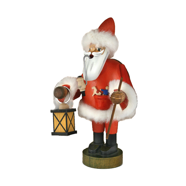 Santa with Lantern and Staff
