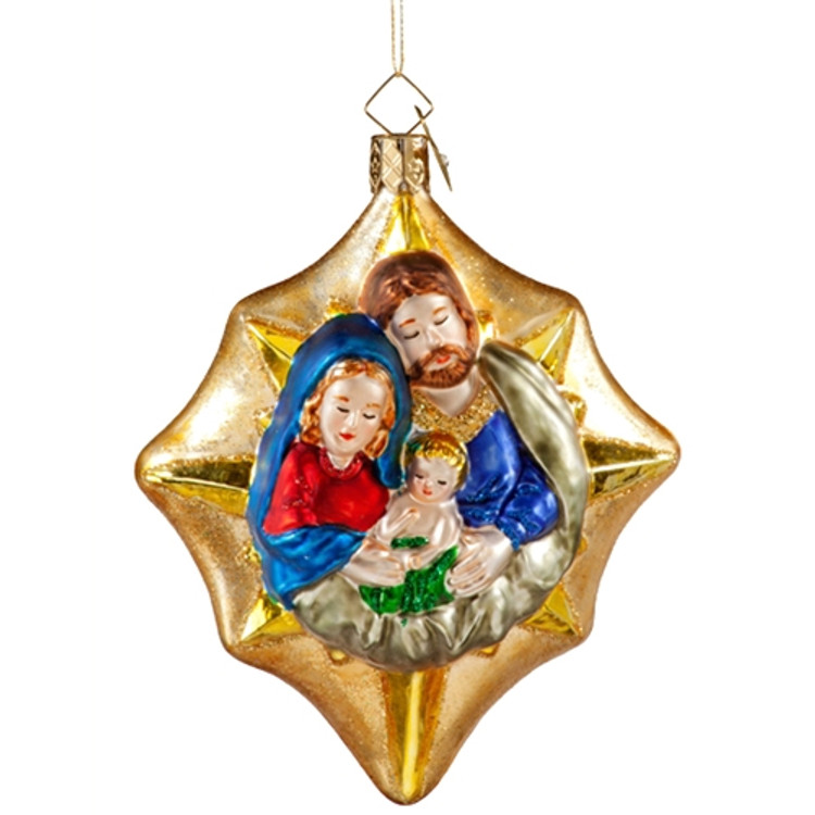 Star with Holy Family