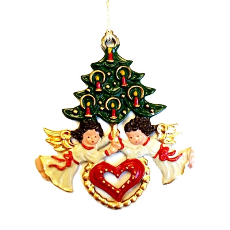Angels Holding Tree