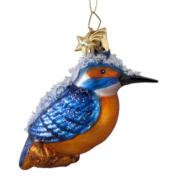 Snowy Blue Bird